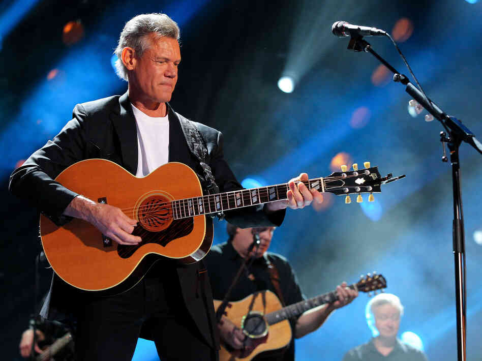 Country singer Randy Travis at t