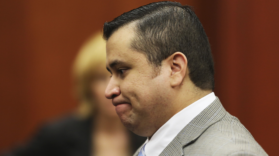 George Zimmerman in court on Thursday. (Reuters/Landov)