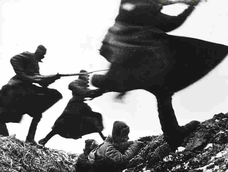 An attack on the Eastern Front, WWII, 1941