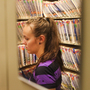 Heather Garris, a custodian of medical records, organizes patients' files at Colorado Springs Internal Medicine in Colorado Springs, Colo.