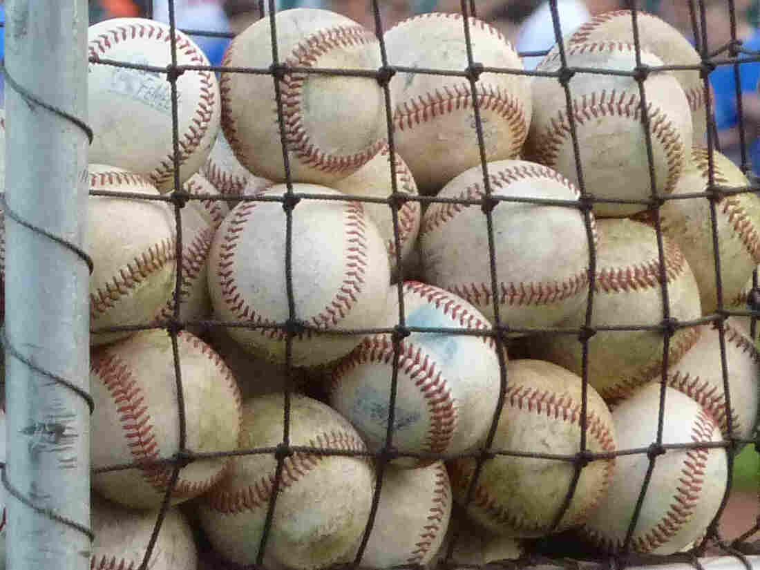 A passel of baseballs