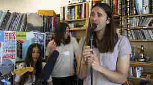 Guards performs a Tiny Desk Concert in June 2013.