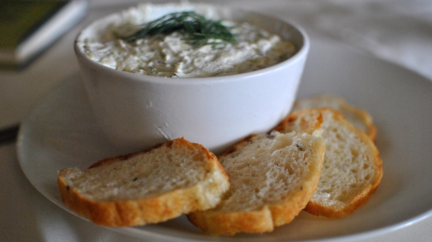 Benedictine is a combination of cream cheese, cucumber and onion. It may sound odd, unless you're from Kentucky. (WFPL)