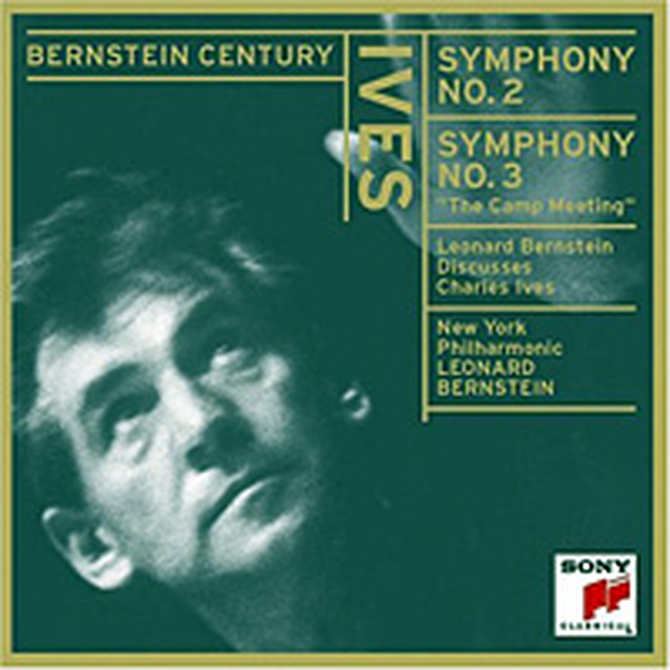 Leonard Bernstein conducts Ives.