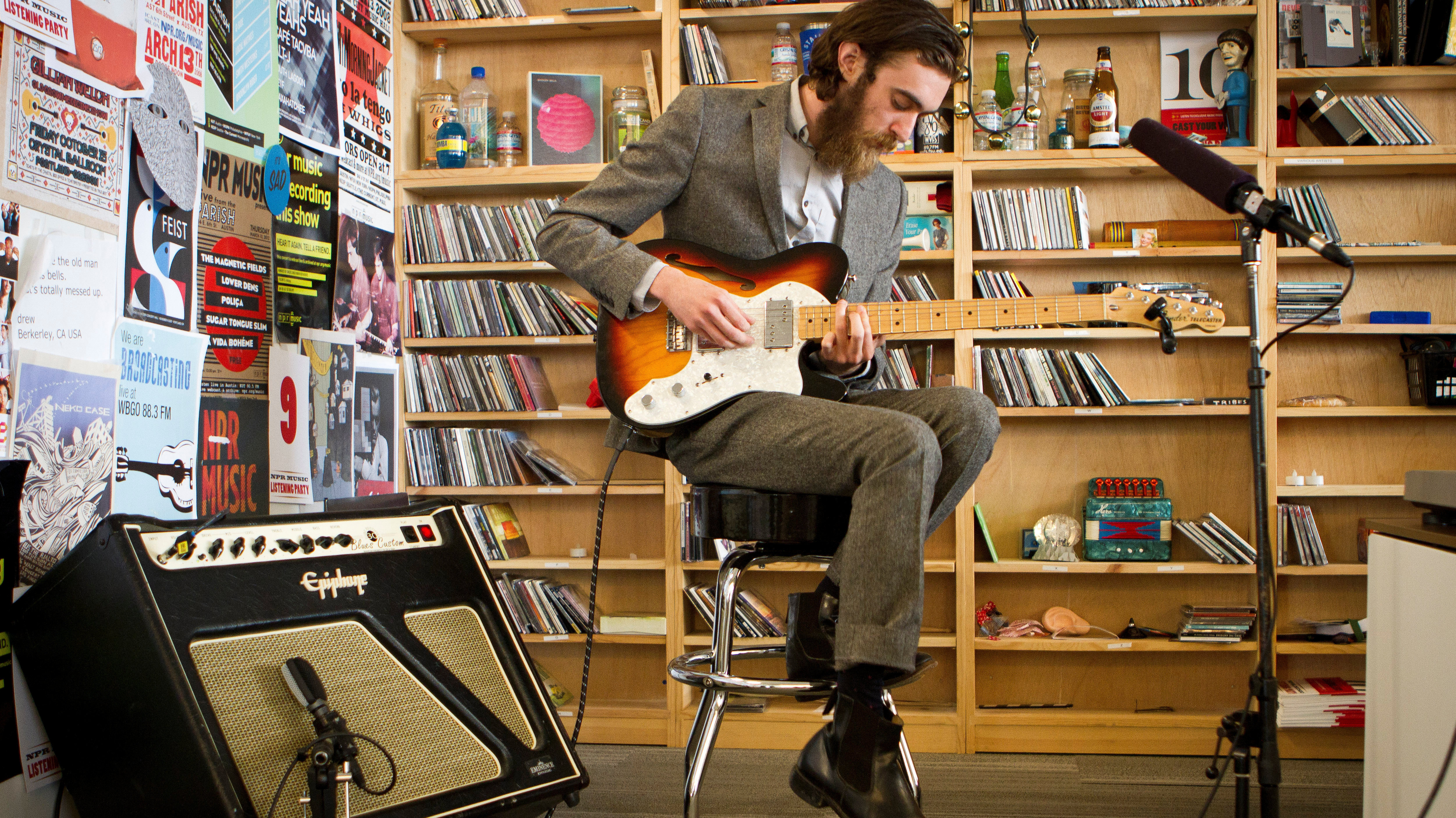 Andrea Echeverri: Keaton Henson: Tiny Desk Concert : NPR