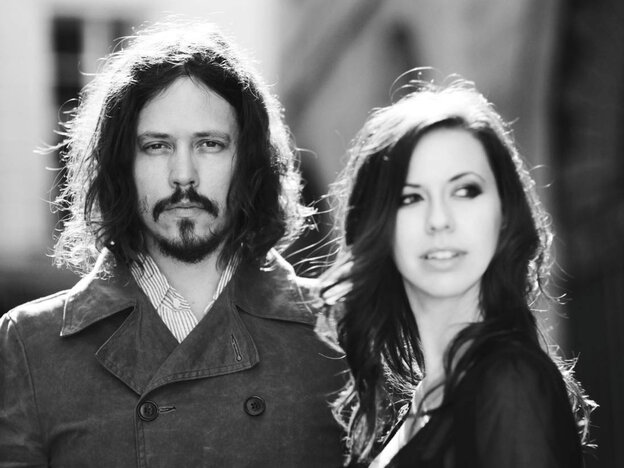 John Paul White (left) and Joy Williams of The Civil Wars. The duo's second album will be released on August 6.