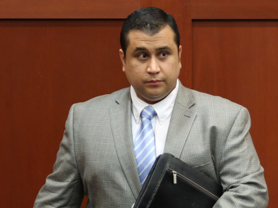 George Zimmerman in court on Thursday.