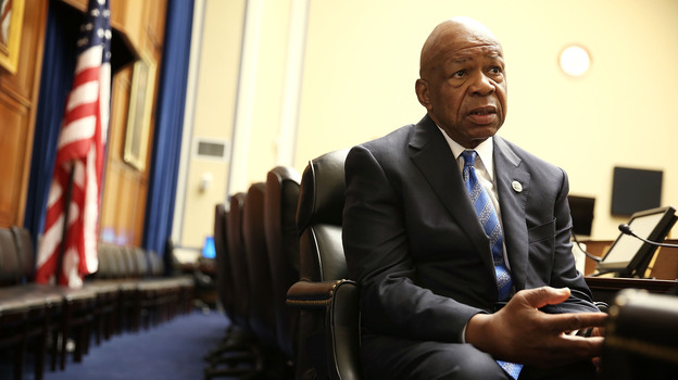 Democratic Rep. Elijah Cummings of Maryland is a ranking member of the House Committee on Oversight and Government Reform. He's released documents that suggest that the IRS targeted progressives as well as Tea Party groups. (Getty Images)