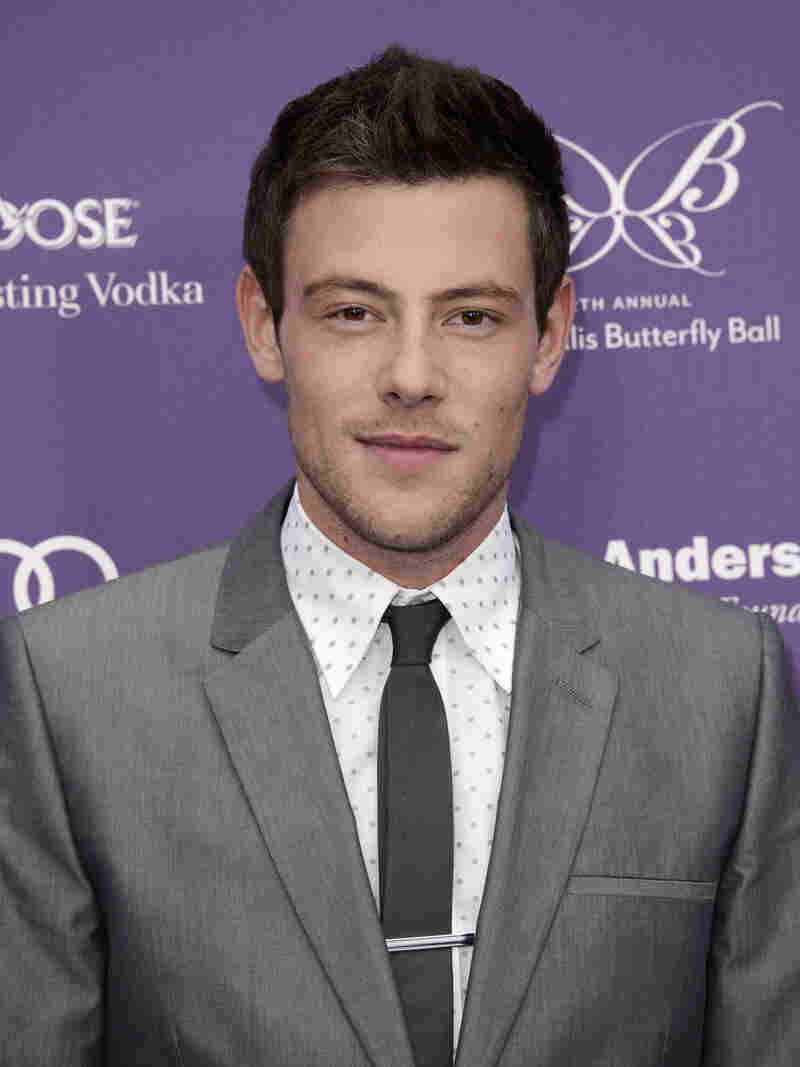 Actor Cory Monteith arrives at the 12th Annual Chrysalis Butterfly Ball on June 8. He was found dead Saturday in Vancouver.