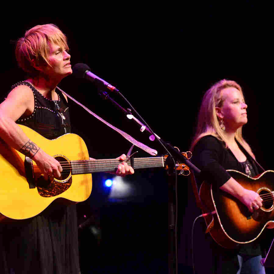 Mary Chapin Carpenter And Shawn Colvin On Mountain Stage
