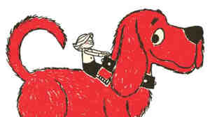 Clifford the Big Red Dog was one of several popular books Scholastic turned into a children's television show.