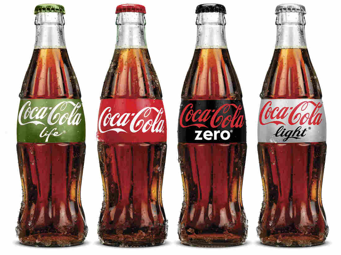 """The new Coca-Cola Life that is popular in Argentina is being marketed as a """"natural"""" and therefore """"green"""" lower-calorie cola."""