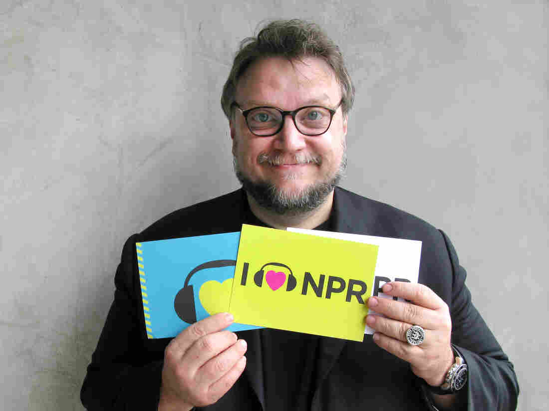 Guillermo del Toro at NPR West.