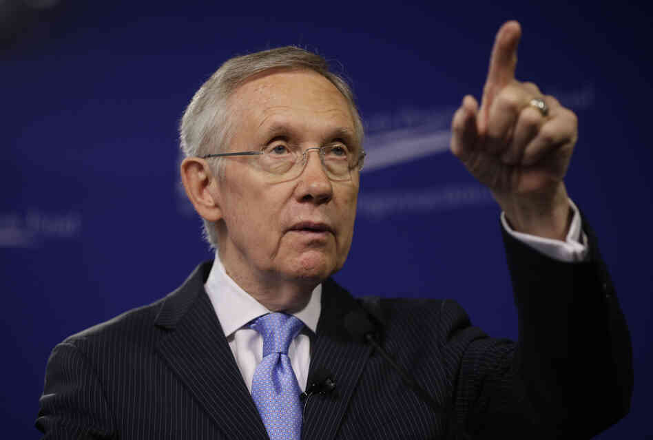 Senate Majority Leader Harry Reid warns that if Republicans don't relent on filibusters, they will leave him no choice but to change the chamber's rules.