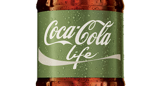"Coca-Cola Life, a new product being rolled out in Argentina with a green label, is being marketed as a ""natural"" and therefore lower-calorie cola."
