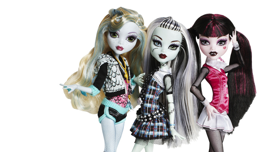 Mattel executives say they did not anticipate the runaway success of the goth-influenced Monster High brand when it debuted in 2010. (Mattel)