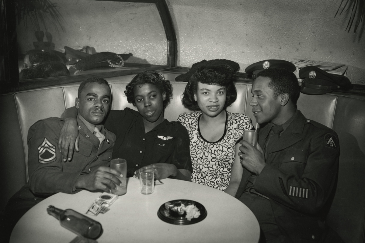 Bar Patrons, Pittsburgh, Penn., circa late-1940s