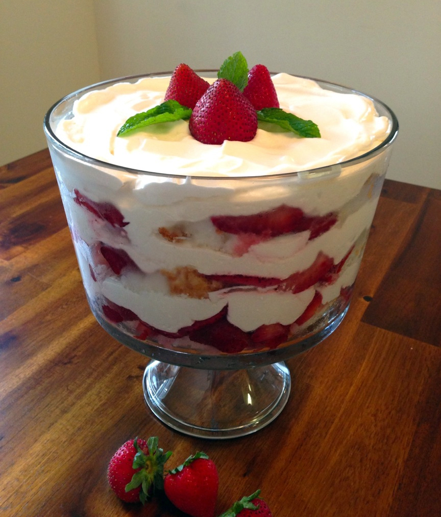 Taste Of Summer Finalist: Strawberry Trifle : NPR