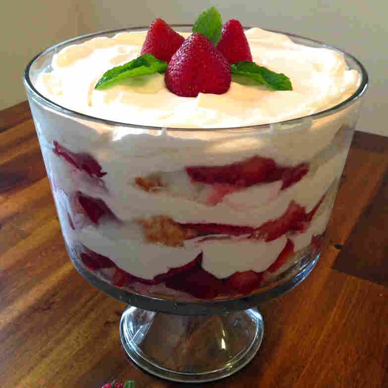 Taste Of Summer Finalist: Strawberry Trifle