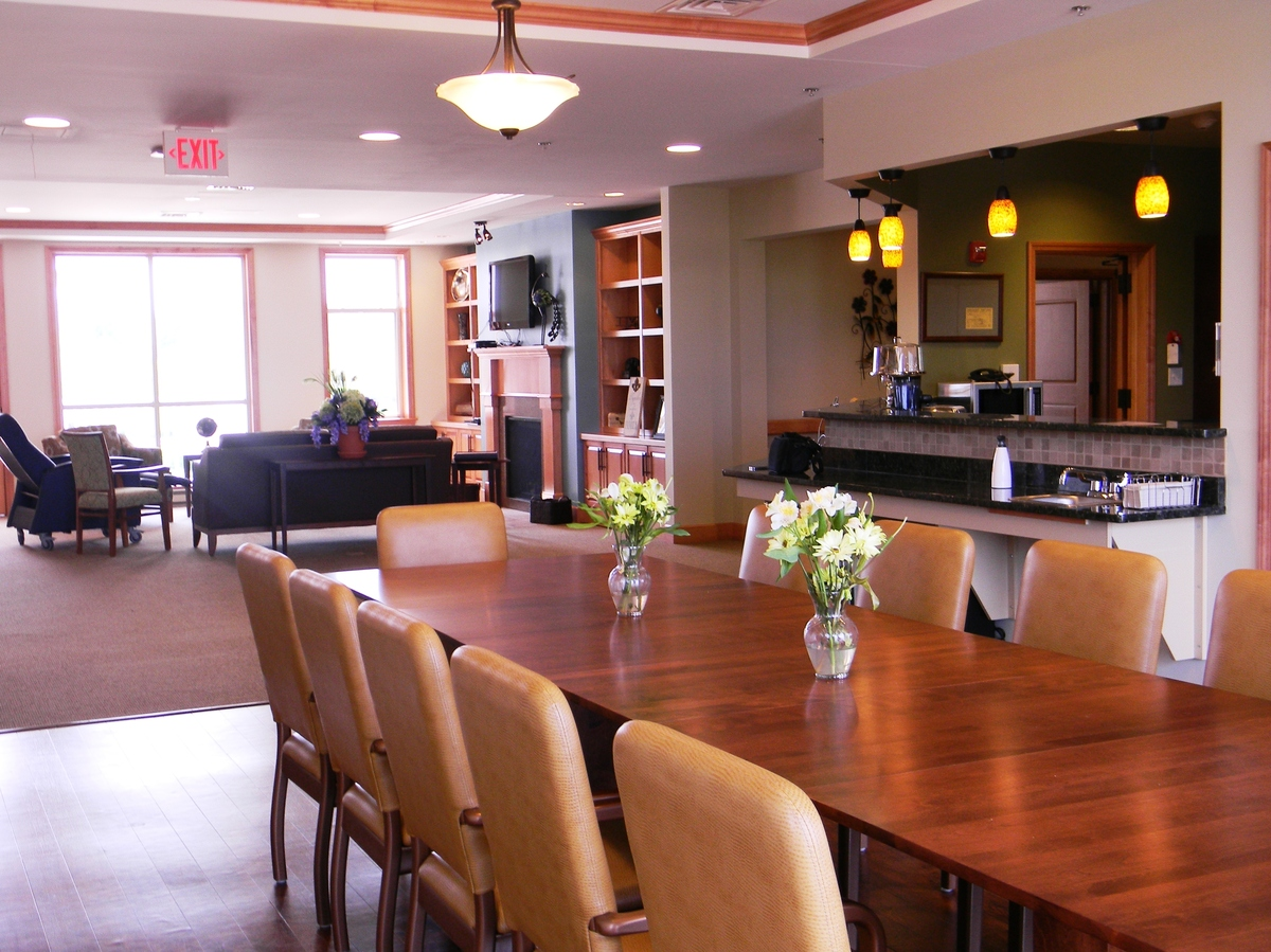 Move over nursing homes there 39 s something different npr for Nursing home dining room ideas
