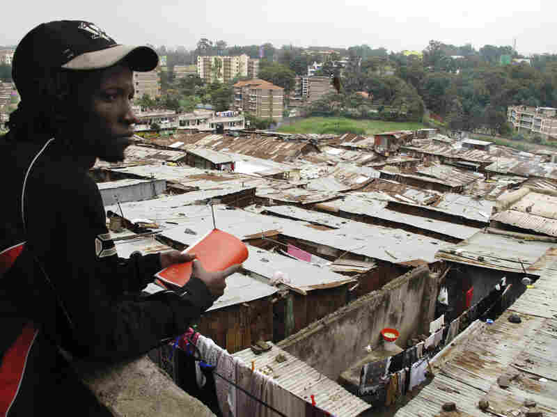 Isaac Mutisya, whom everyone knows as Kaka, points out the spot in Mathare where he was born. The more he maps his slum through the lens of his GPS, the more he feels the outside world is finally looking back.