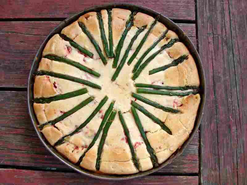 Savory Almond Cake