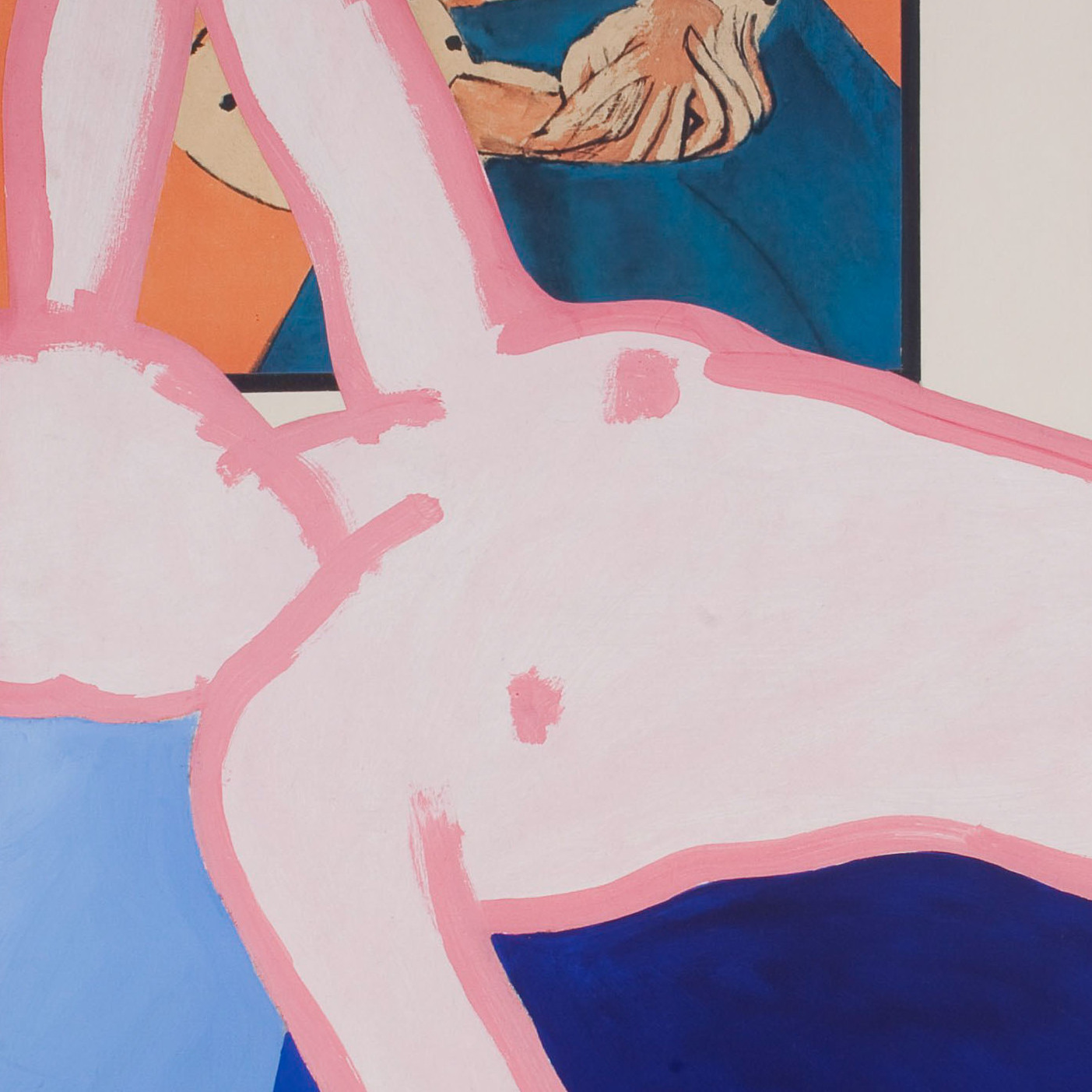 Nearly 100 years after Edouard Manet painted his scandalous 1863 Olympia, Tom Wesselmann created The Great American Nude #26.