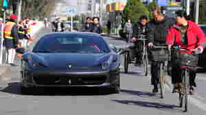 In Today's Beijing, Flash Ferraris And Fading Traditions