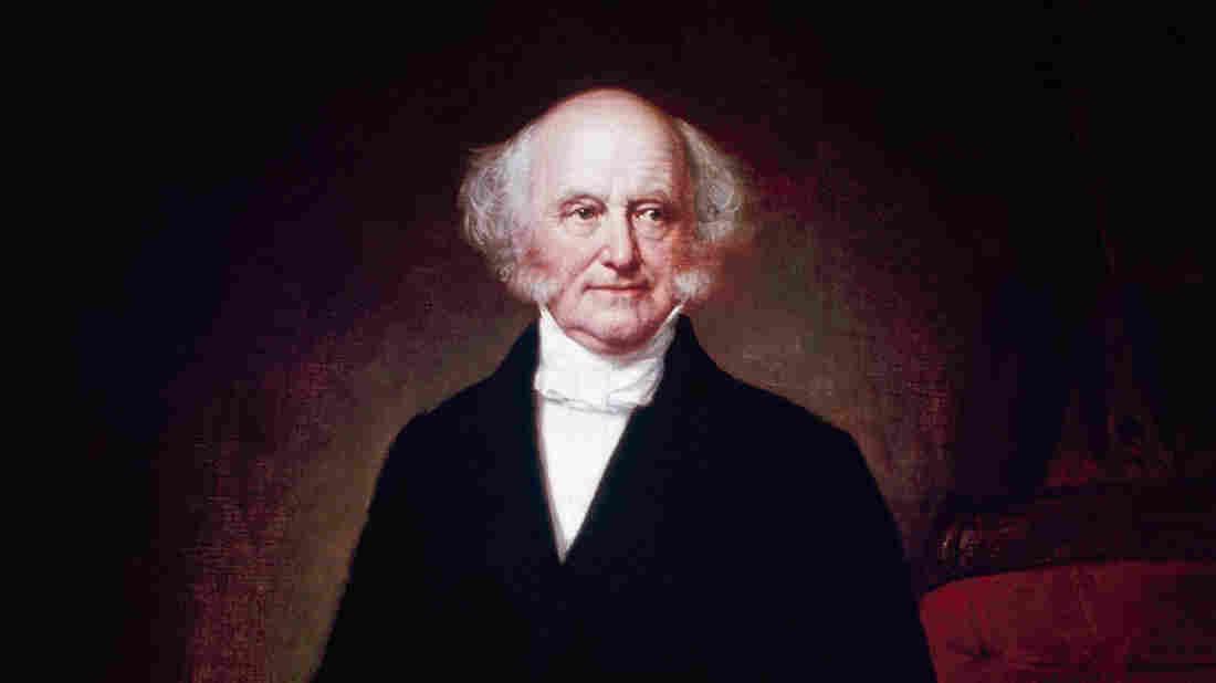 Martin Van Buren, the eighth president of the United States.