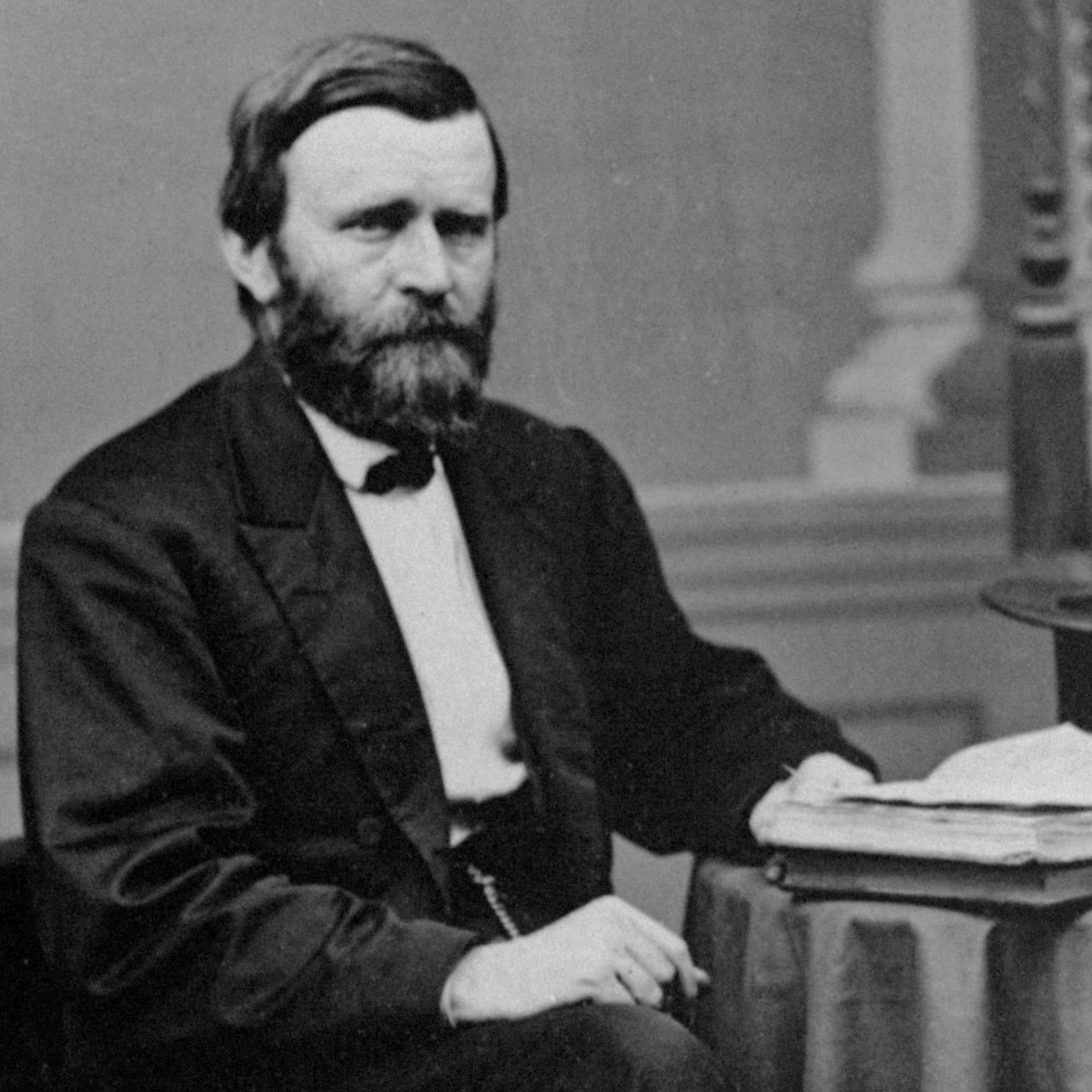 President Ulysses S. Grant, former Civil War general.
