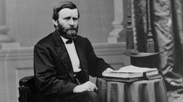 President Ulysses S. Grant, former Civil War general.