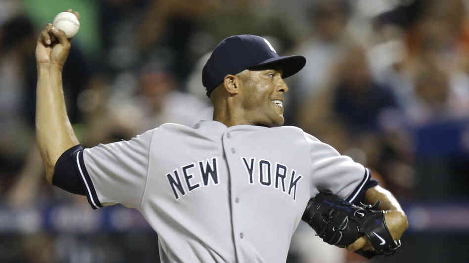 Mariano Rivera of the New York Yankees pitches a perfect eighth inning during Tuesday's Major League Baseball All-Star baseball game. He was later named Most Valuable Player.