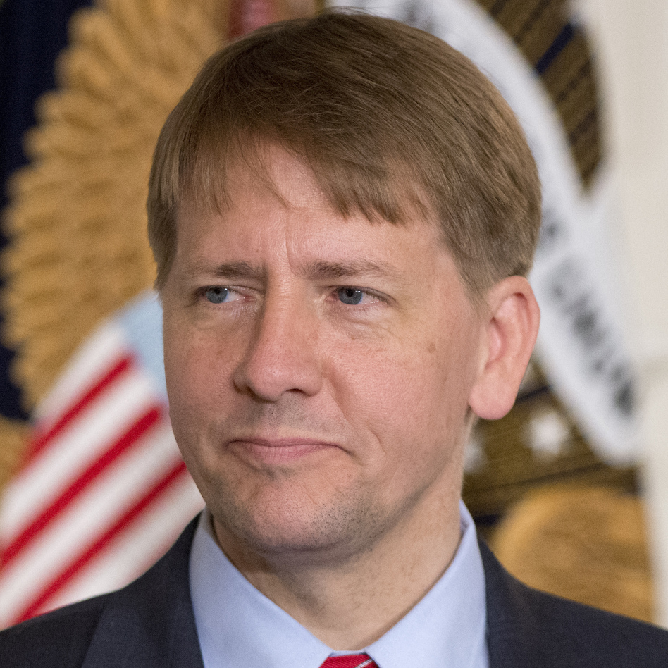 Richard Cordray, director of the Consumer Financial Protection Bureau. (Ron Sachs/pool/Getty Images)