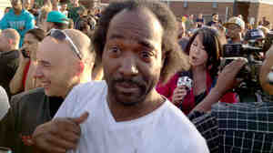 Charles Ramsey on the day three young women (and one of the women's daughters) were rescued from a Cleveland home. He gained fame for his accounts of what happened.