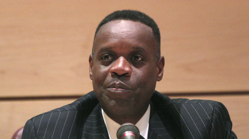 Kevyn Orr, Detroit's emergency manager, holds his first public meeting since being appointed by the governor on June 10. (Getty Images)