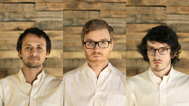 Left to right: Daniel Machalak, James Philips and Stuart Robinson of Bombadil. (Courtesy of the artist)