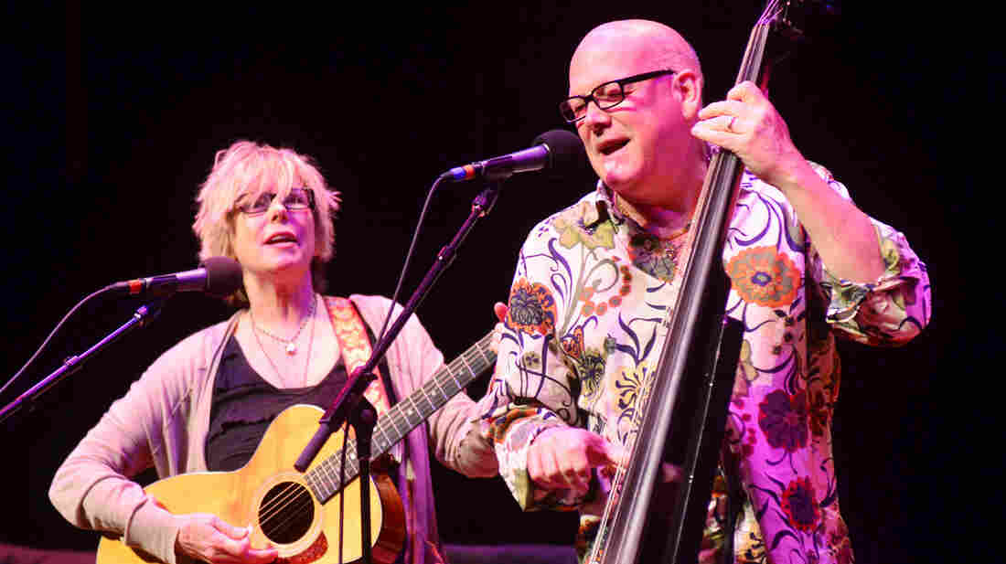 Marti Jones and Don Dixon perform on Mountain Stage.