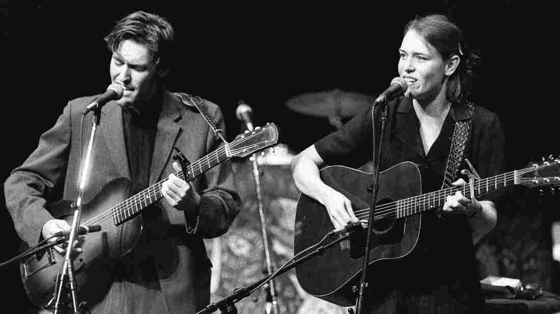 David Rawlings and Gillian Welch perform on Mountain Stage.