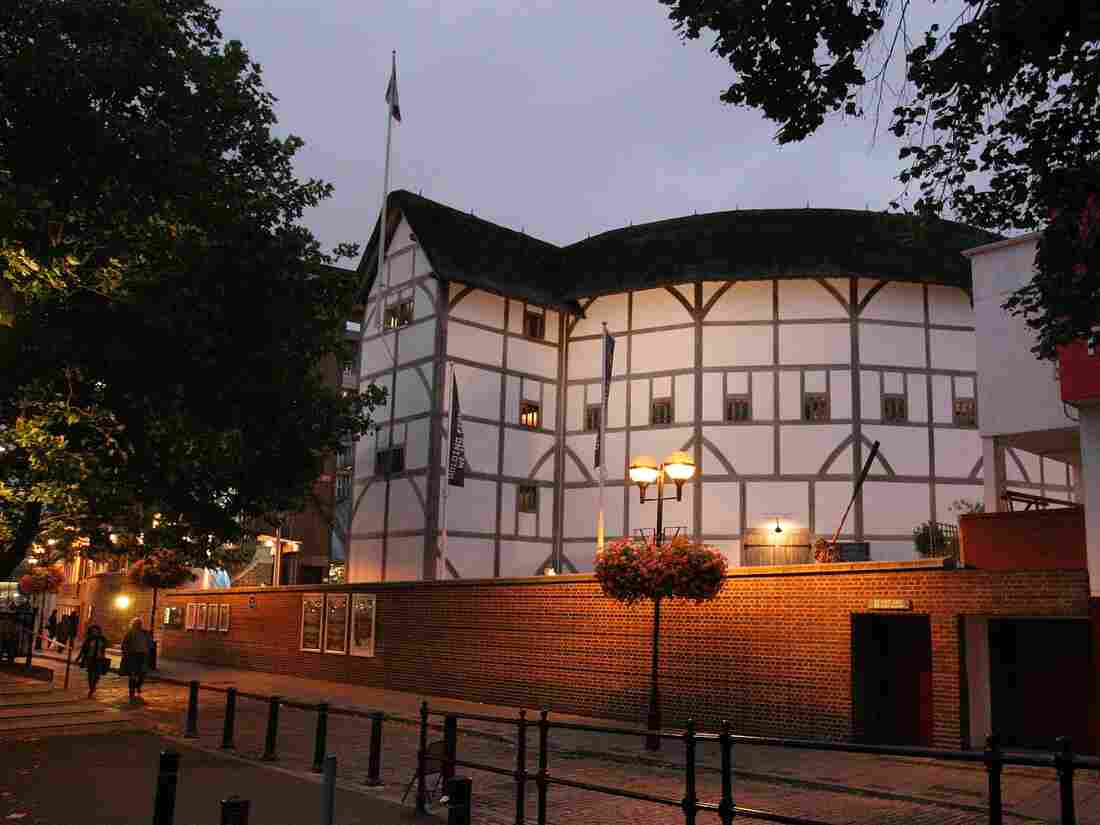 A view of the Globe Theatre in London.