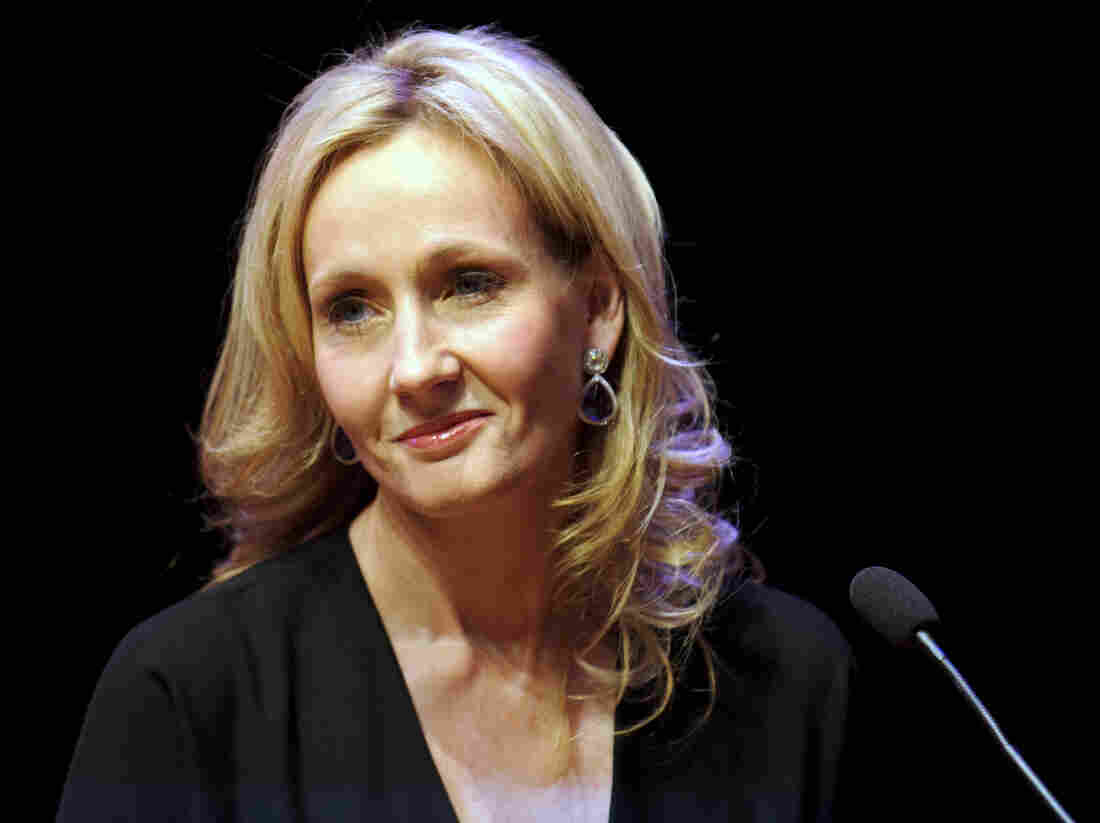 J.K. Rowling isn't happy with