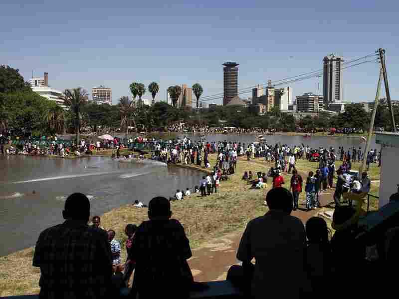 Crompton's novel begins in Nairobi's Uhuru Park.