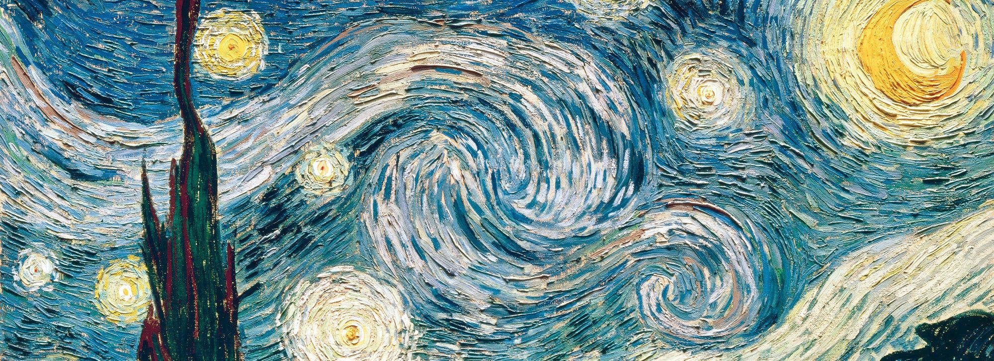 Just Like Van Gogh, Ocean Waves Paint Clouds In The Sky