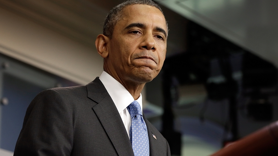 President Barack Obama delivered remarks on the Trayvon Martin case from the White House briefing room Friday. (Getty Images)