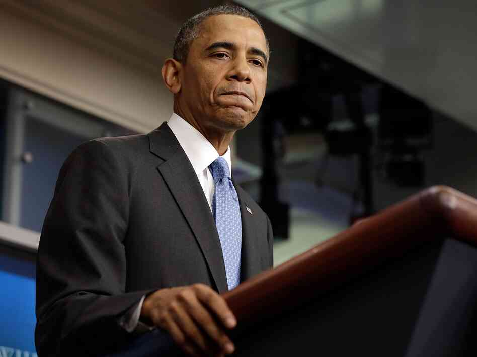 President Obama delivered remarks on the Trayvon Martin case from the White House briefing room Friday.