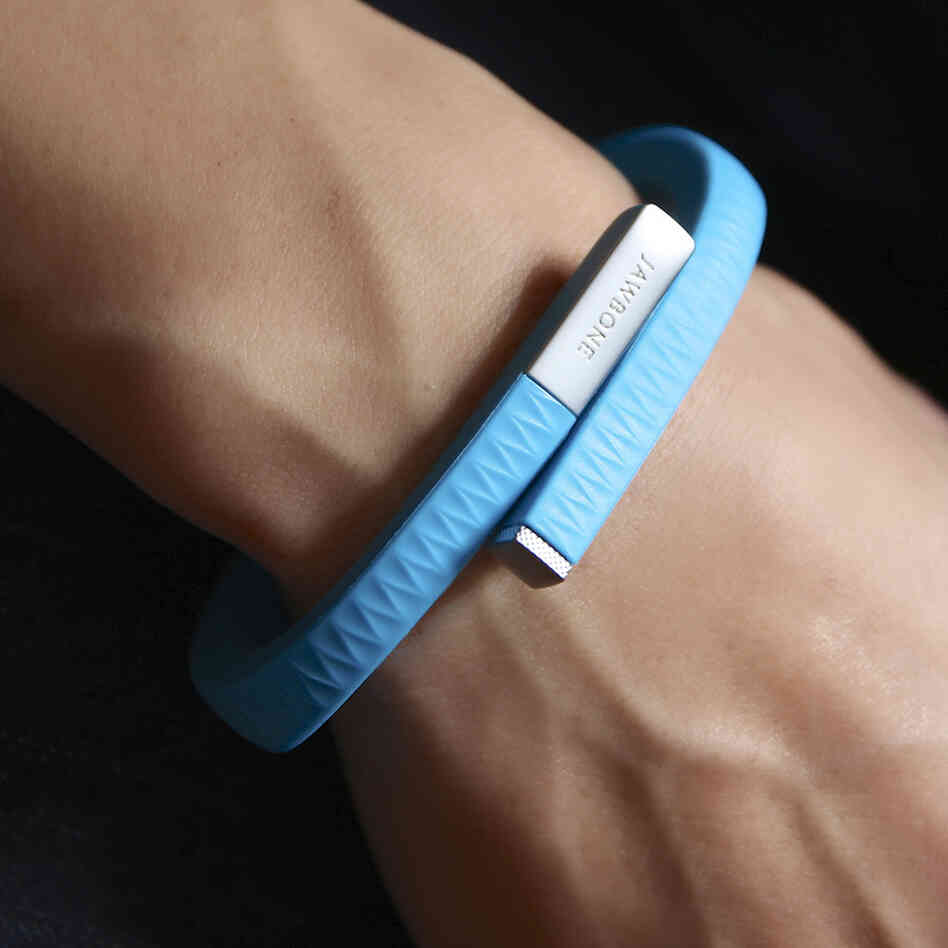 The Jawbone UP's sleep tracking system can help users optimize their sleep patterns.