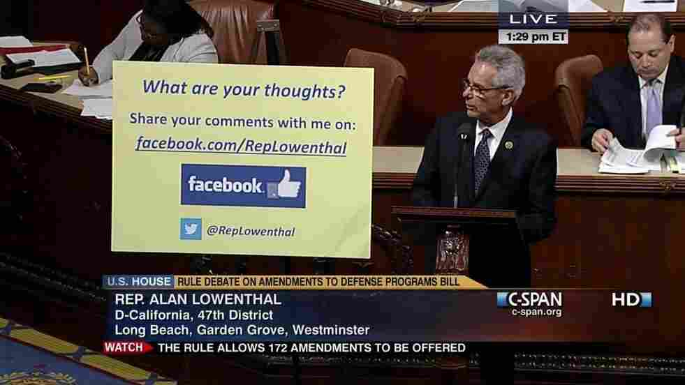 Rep. Alan Lowenthal (D-Calif.) wants to hear from you.