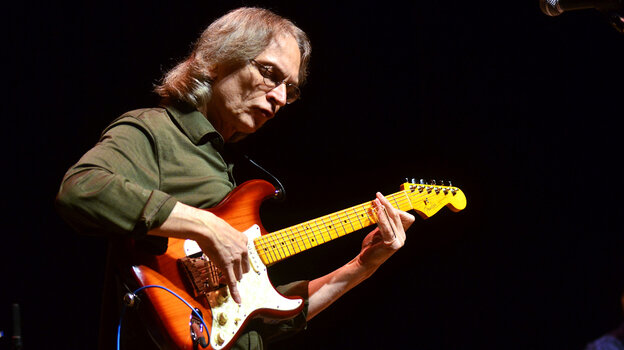 Sonny Landreth performs on Mountain Stage.