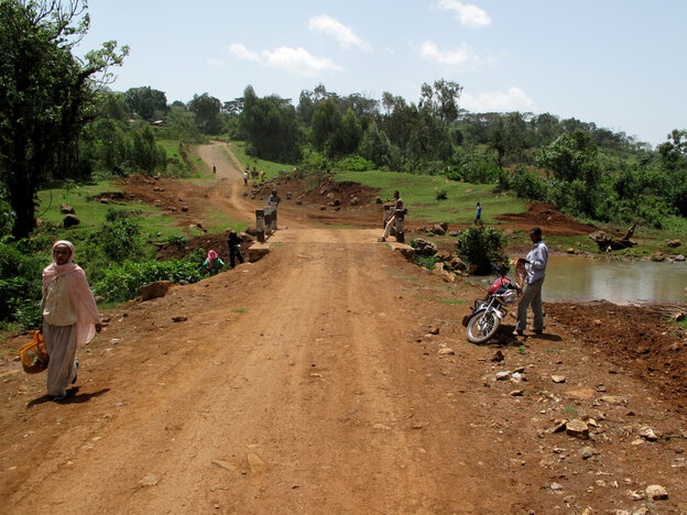The village of Boto in the Ethiopian highlands was selli