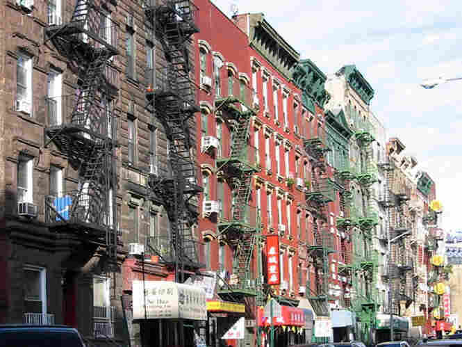 The Lower East Side in Manhattan.