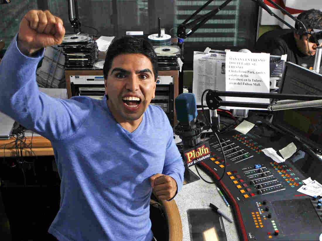 "Univision has canceled a popular Spanish-language radio show hosted by Eddie Sotelo, also known as Piolín or ""Tweety Bird."""